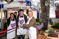 2013-04-20 Brighton & Hove Farmers Market gets set to open on Old Steine