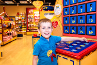 2013-05-12 Charlotte and Isaac at Build A Bear, Churchill Square, Brighton, East Sussex,UK