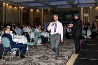 2015-11-26 Ian Dee entertains at Luke Wright Benefit Lunch at The Grand Brighton