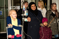 UCH children turn on Fitzrovia Christmas lights