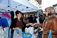 Big Sussex Market, New Road to Jubilee Square, part of the Brighton & Hove Food and Drink Festival April 6-7th 2012
