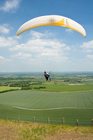 King of the Hill  - Tandem Paragliding At Bo Peep Hill East Sussex 2nd June 2011