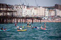 2011 Paddle Round The Pier Beach Festival, Brighton, July 2nd and 3rd