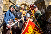 2017-04-08 Warriors of Arundel Castle portraits