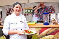 2012 Live Food Show at the Kingston Food Festival 11th-12th August 2012