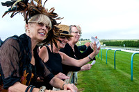 Ladies Day at Brighton Races. 4th August 2011
