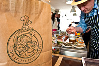 The Little Fish Market opens, Hove, February 11th 2012