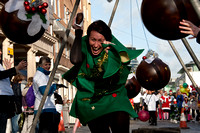 The Great Xmas Pudding Race, New Road, Brighton. 3rd December 2011