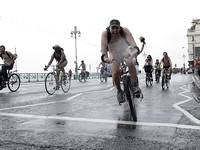 2011 World Naked Bike Ride in Brighton 12th June