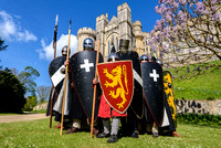 2017-04-16 Normans and Crusaders at Arundel Castle