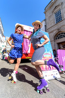 2017-04-01 Joogleberry entertains for English Tourism Week in Brighton